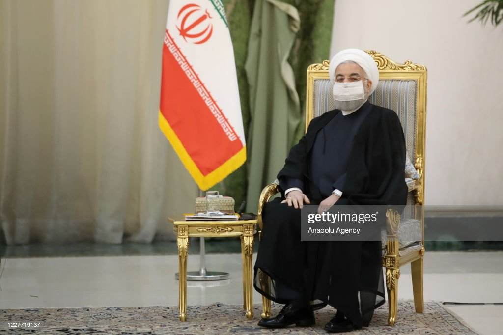Iraqi Prime Minister Mustafa al-Kadhimi in Iran : News Photo