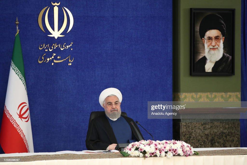 Iranian President Hassan Rouhani : News Photo