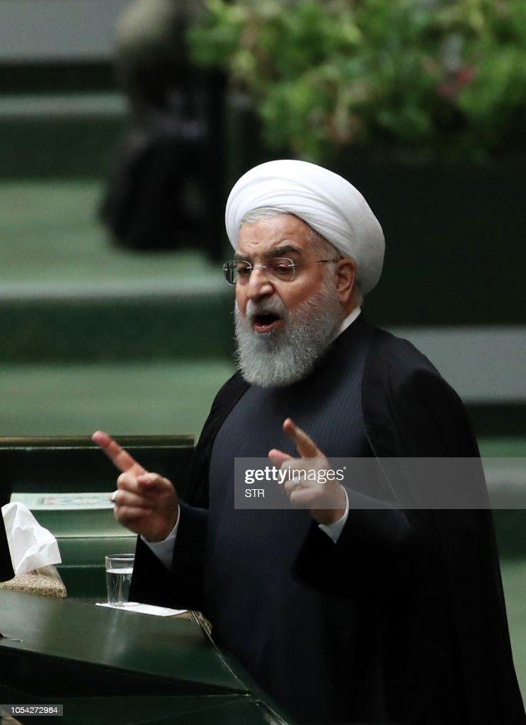 IRAN-POLITICS-PARLIAMENT : News Photo