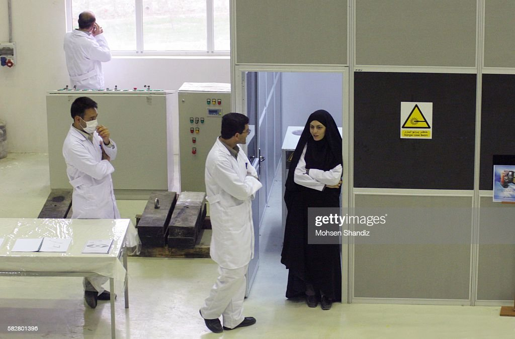 Iran - Iran's Fuel Manufacturing Plant : ニュース写真