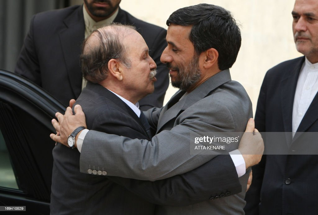 IRAN-ALGERIA-BOUTEFLIKA-AHMADINEJAD : News Photo