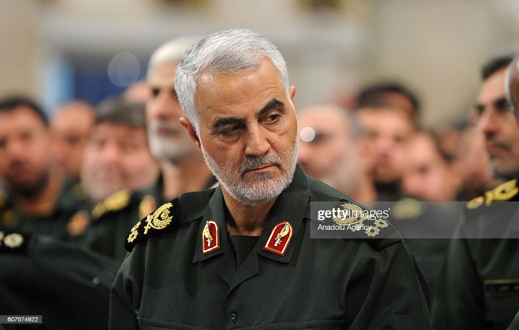 Qassem Soleimani : News Photo