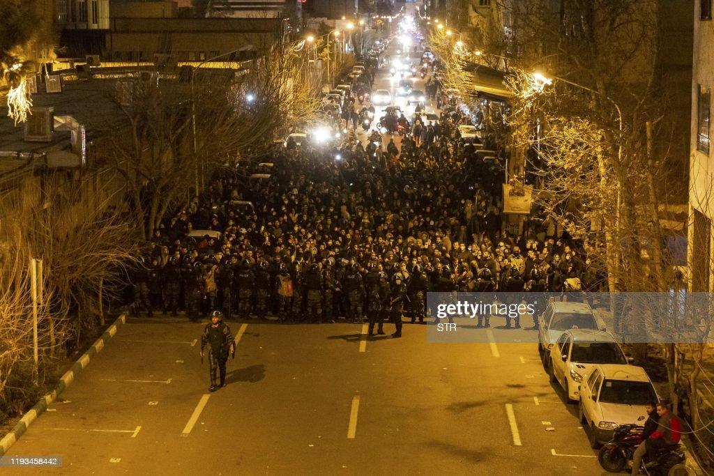 IRAN-POLITICS-PROTEST : Fotografia de notícias