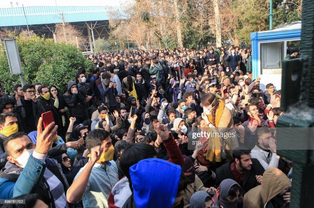 IRAN-POLITICS-DEMO : News Photo