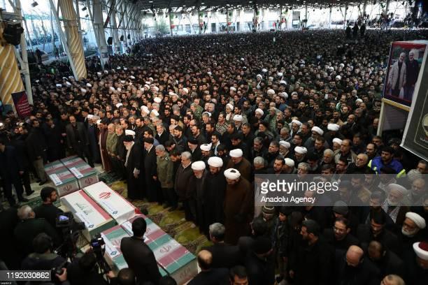 Iranian Supreme Leader Ayatollah Ali Khamenei, Iranian President Hassan Rouhani, Soleimanis long-time lieutenant and the new leader of Quds Force...