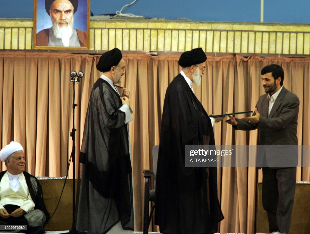 IRAN-POLITICS-AHMADINEJAD : News Photo
