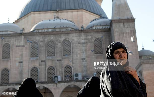 Iranian visiter in birthplace of Prophet Abraham.