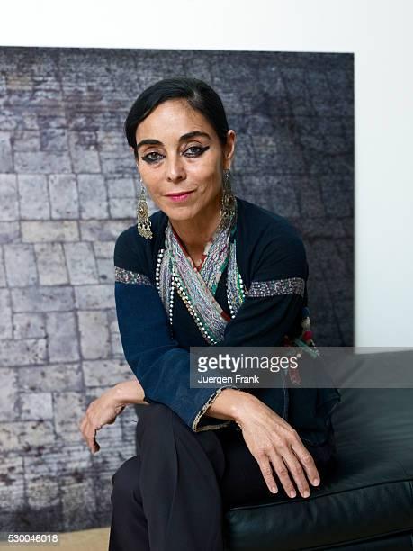 Iranian visual artist Shirin Neshat in her New York apartment