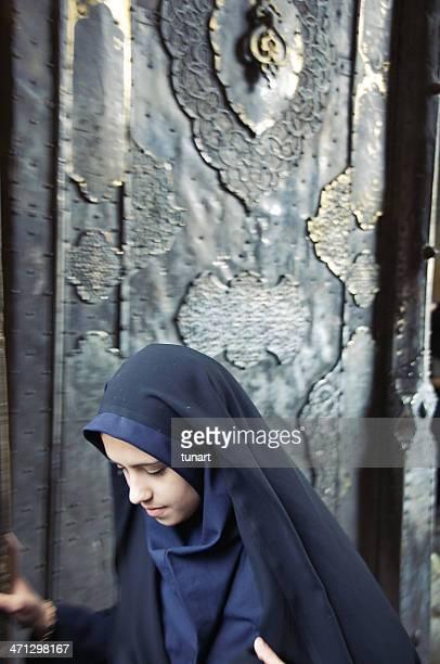 イランの女性 - イマーム寺院 ストックフォトと画像