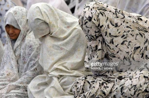 Iranian women attend the weekly Friday prayers at Tehran University on July 3 2009 Iran's head of the Guardian Council Ahmad Jannati said that some...