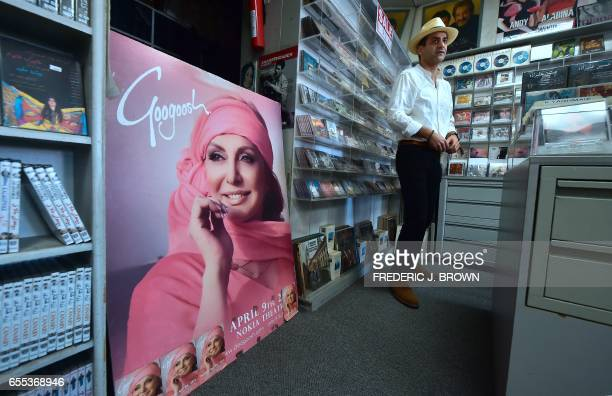 IranianAmerican Arash Saedinia an English literature professor at Los Angeles City College browses for music at the Music Box along Westwood...