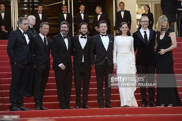 IranianFrench cinematographer Darius Khondji US set designer Happy Massee US producer Anthony Katagas US producer Greg Shapiro actor Jeremy Renner...