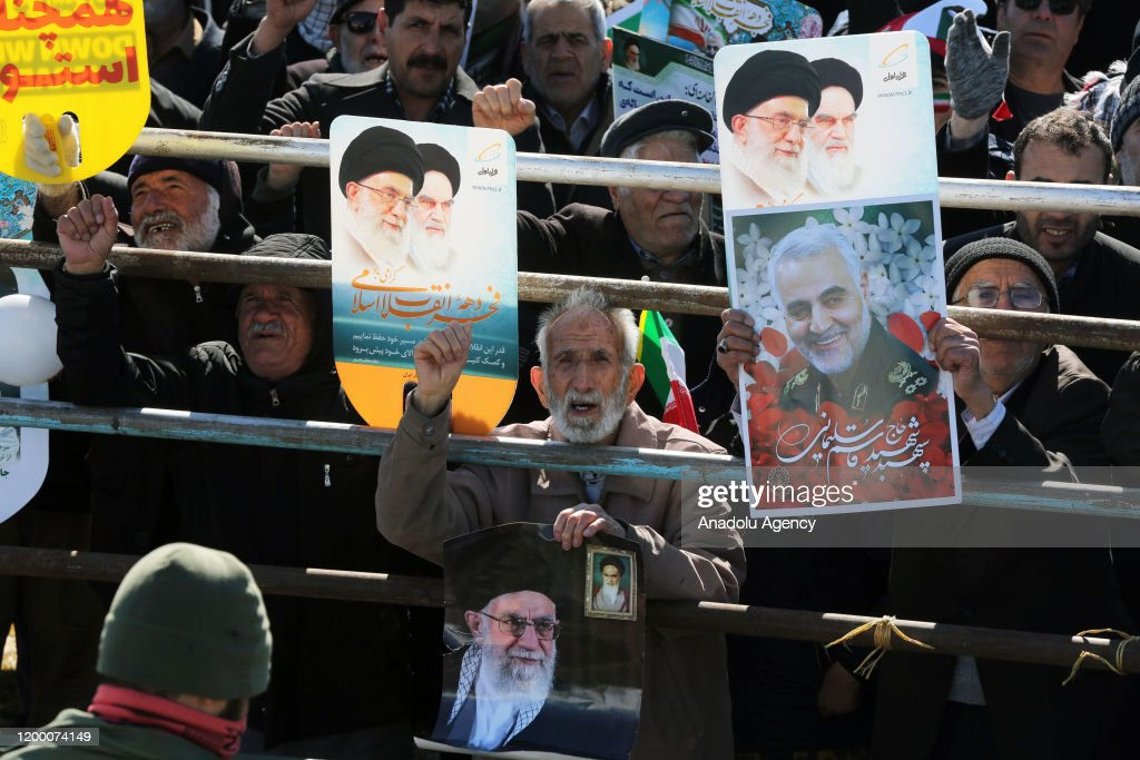 41st anniversary of Iran's Islamic Revolution : Nieuwsfoto's