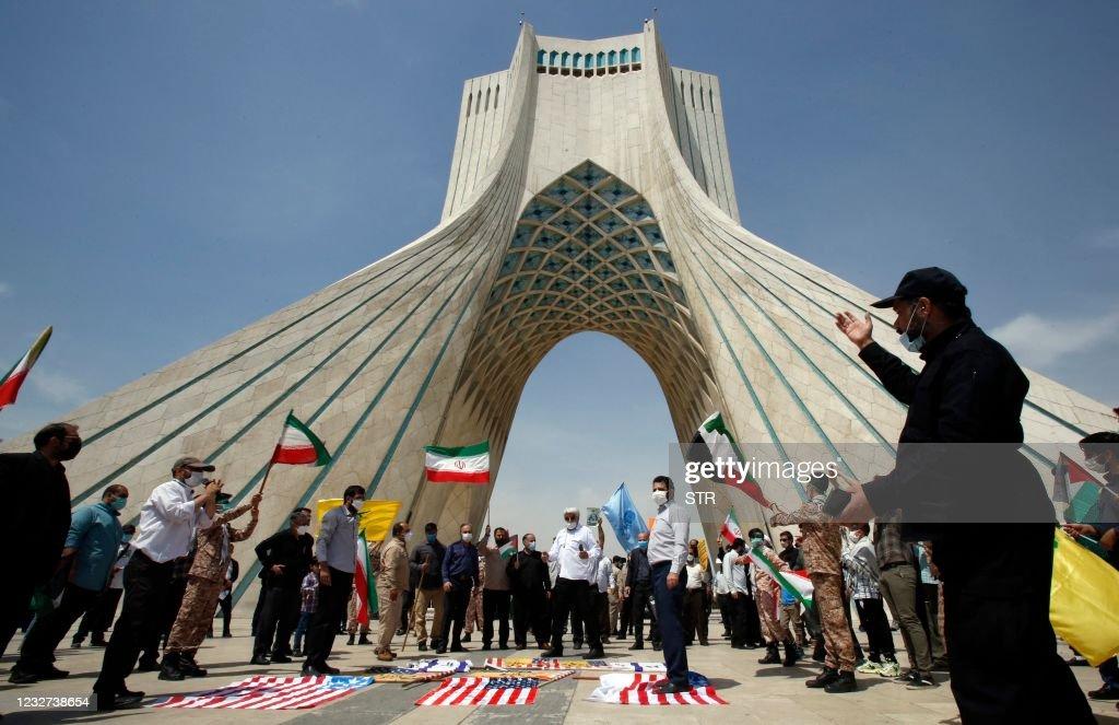 IRAN-POLITICS-QUDS DAY : Nieuwsfoto's