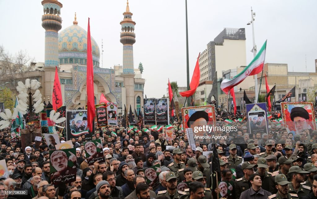 Anti-US rally in Tehran : News Photo