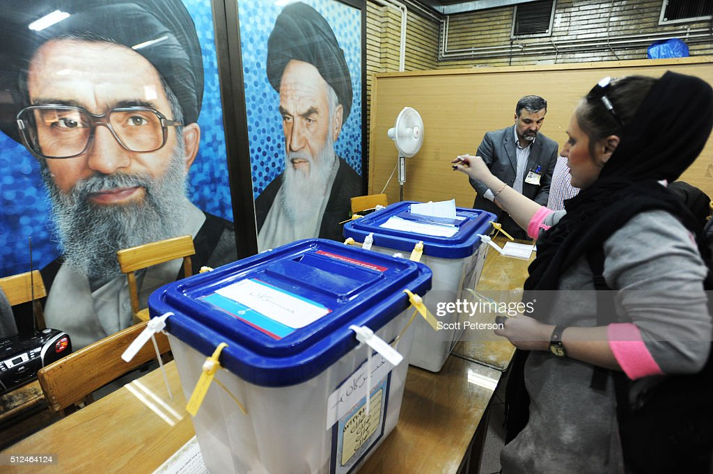 Iranians Vote In Parliament And Assembly Of Experts Elections : News Photo