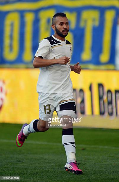 Iranilton Sousa Morais Junior of FC Astra Ploiesti in action during the Romanian First Division match between FC Petrolul Ploiesti and FC Astra...