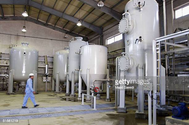 Iran's controversial heavy water production facility is seen in this general view, October 27, 2004 at Arak, south of the Iranian capital Tehran....