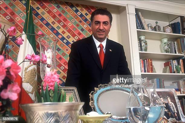 Iran's exiled Crown Prince Reza Pahlavi