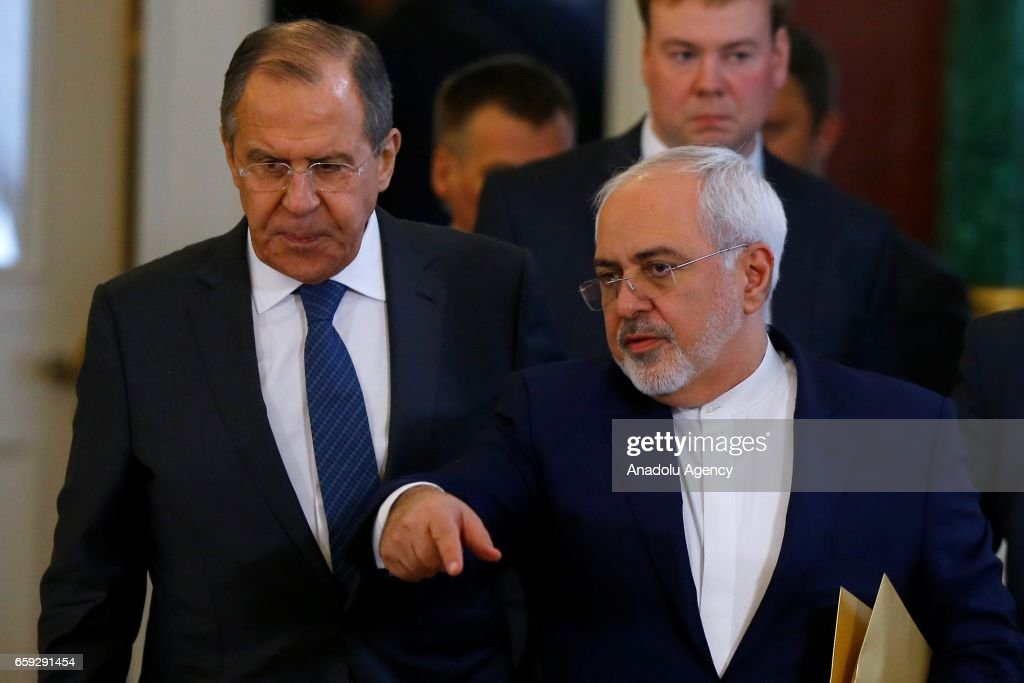 Iranian President Hassan Rouhani in Moscow : ニュース写真