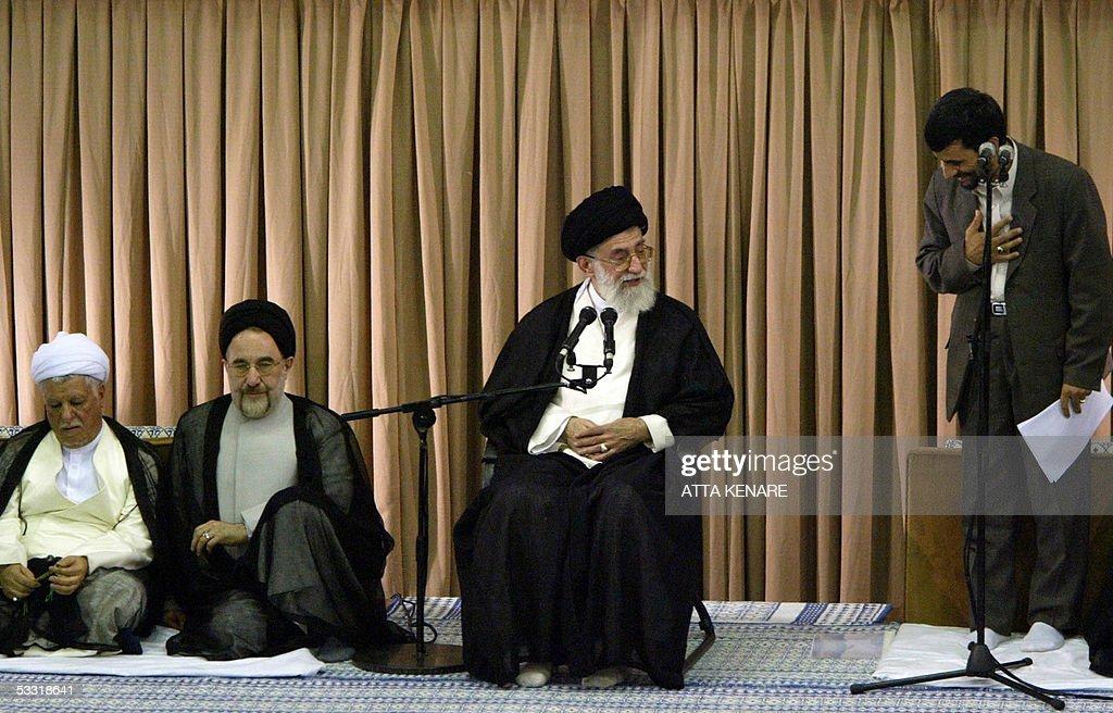 Iran's new President Mahmoud Ahmadinejad : News Photo