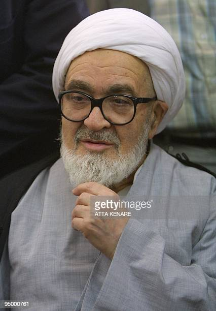 Iran's oldest dissident cleric Ayatollah Hossein Ali Montazeri once in the line to lead the country after Ayatollah Ruhollah Khomeini meets with...