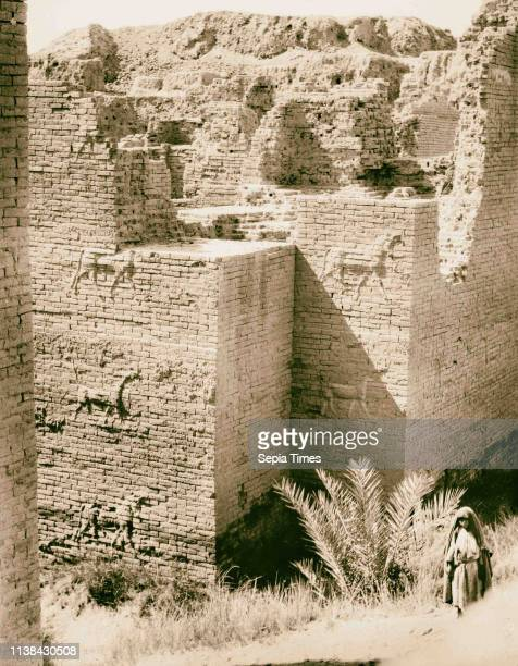 Iraq Babylon The Ishtar Gate 1932 Iraq Babylon