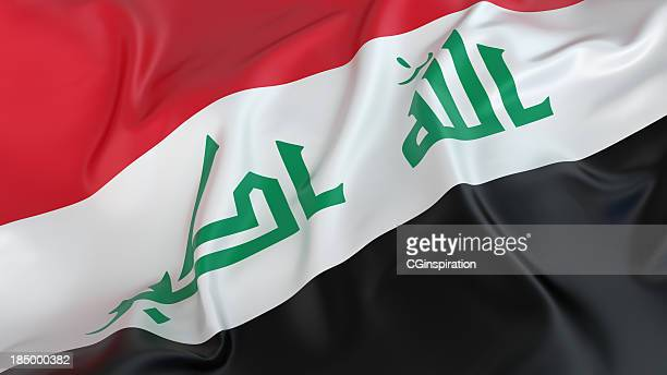 iraq flag - baghdad stock pictures, royalty-free photos & images