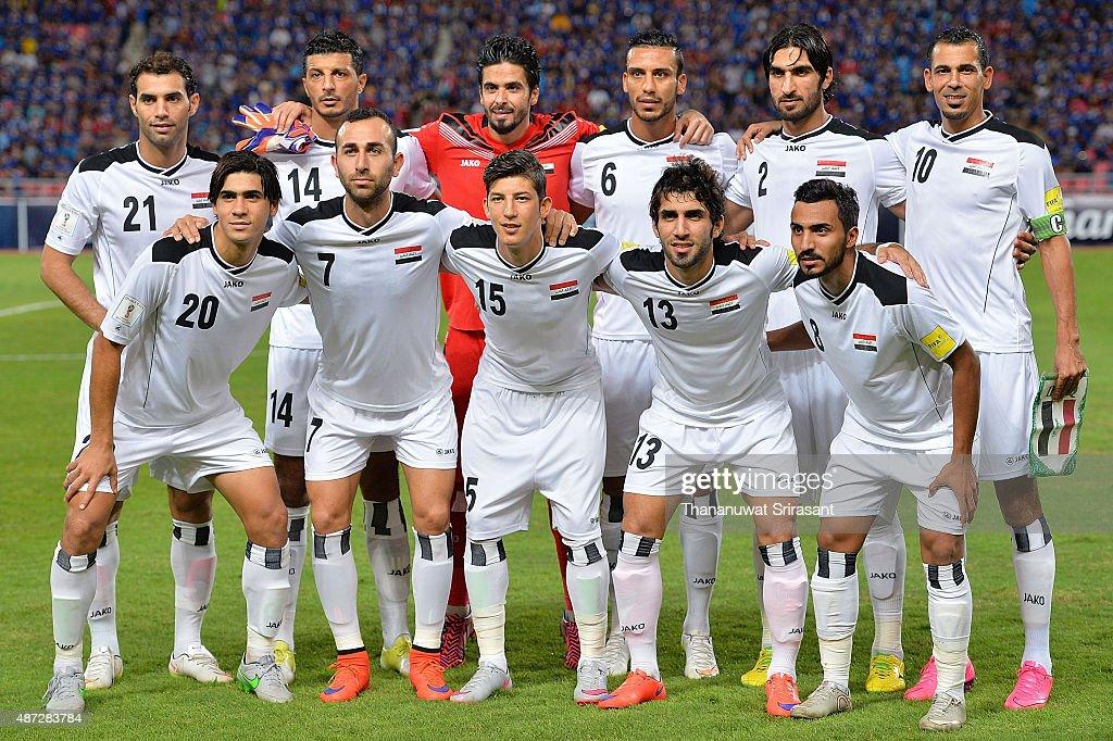 2018 FIFA World Cup Qualifier - Thailand v Iraq : ニュース写真