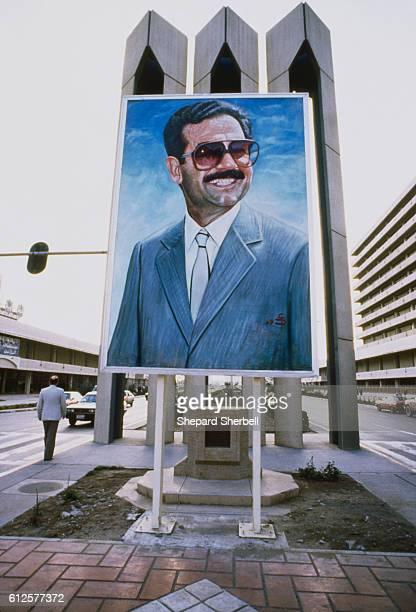 Poster of Saddam Hussein