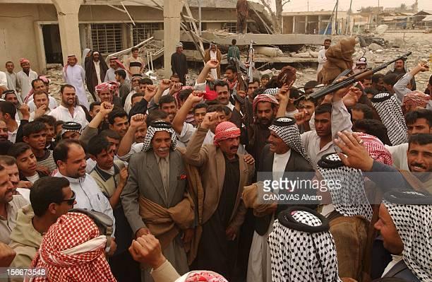 Iraq War Mission Accomplished For The 41st Libération de la ville d'ALDIWANIYYA par le 41ème régiment d'infanterie les 'freedom fighters' armés ou...