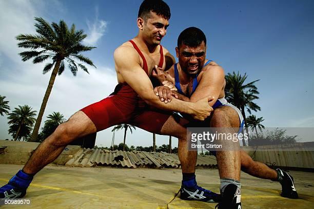 Iraq Wrestler Prepares For Olympics