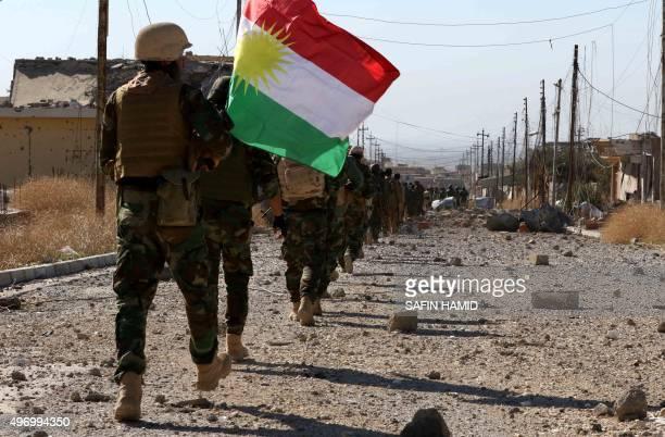Iraqi autonomous Kurdish region's peshmerga forces and fighters from the Yazidi minority, a local Kurdish-speaking community which the Islamic State...