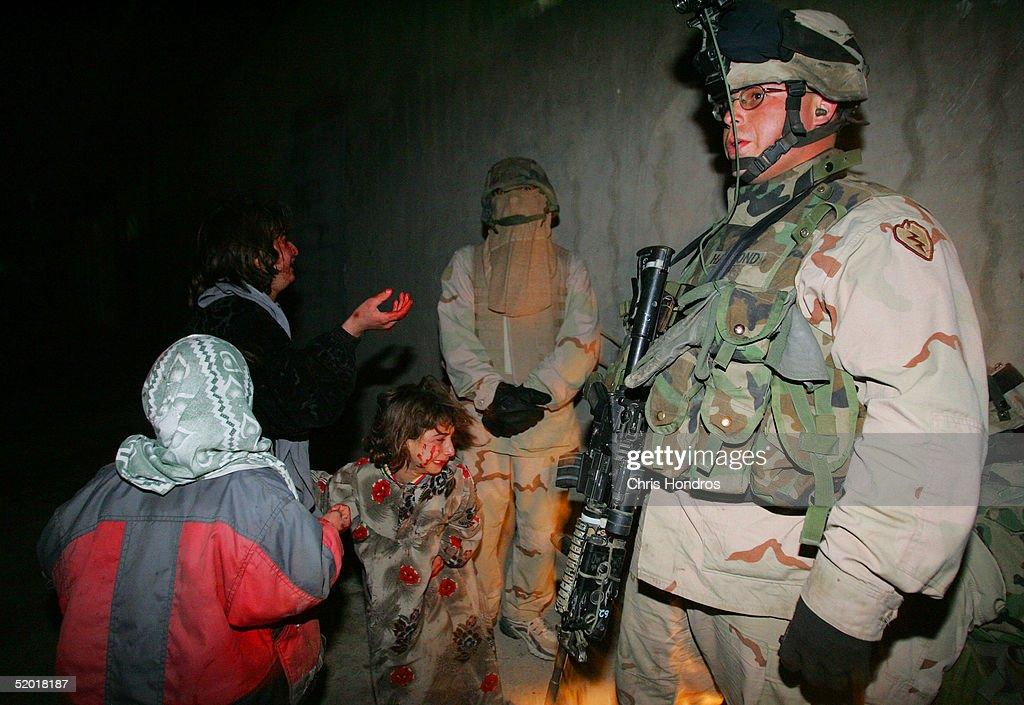 U.S. Troops Mistakenly Kill Iraqi Civilians : News Photo
