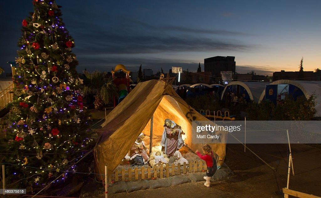 Displaced Christians Take Refuge In Erbil : News Photo