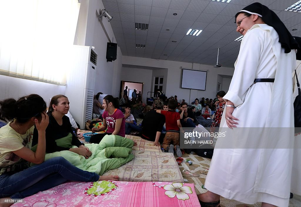 IRAQ-CONFLICT-REFUGEE : News Photo