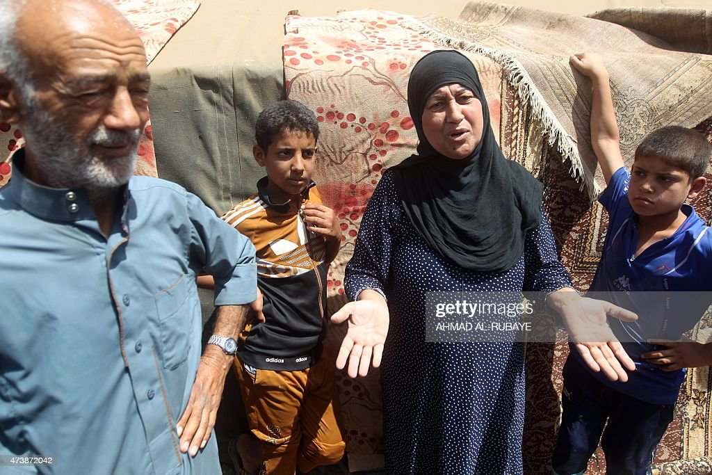 IRAQ-CONFLICT-DISPLACED : News Photo