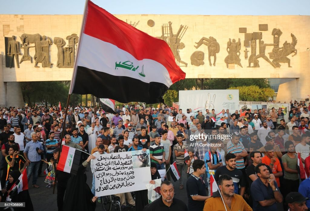 IRAQ-CONFLICT-DEMO : News Photo