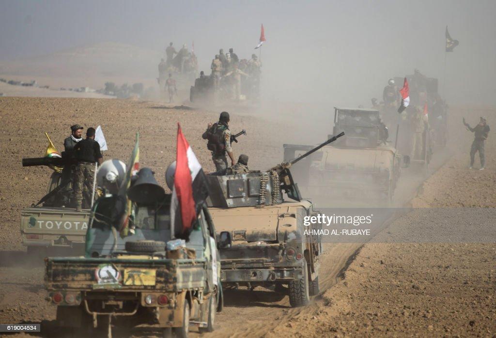 IRAQ-CONFLICT-MOSUL : News Photo