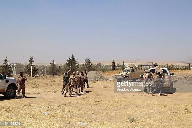 Iraqi Kurdish peshmerga forces withdrawn not to be targeted as US army set an offensive in northern city Mosul Iraq on August 31 2014 The US on...