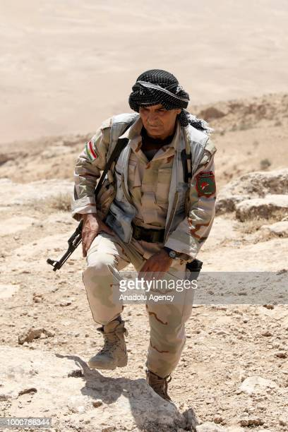 Iraqi Kurdish Regional Government forces conduct an operation against Daesh terrorist group with the support of The Global Coalition Against Daesh...