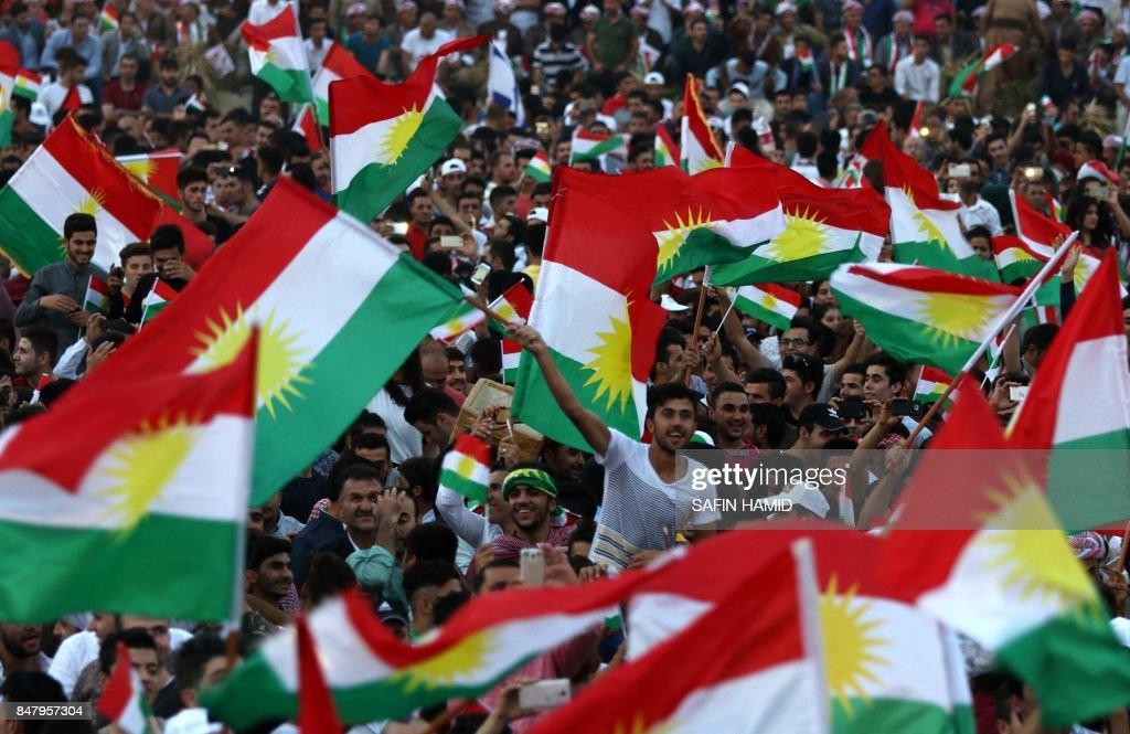 IRAQ-KURDS-VOTE : News Photo