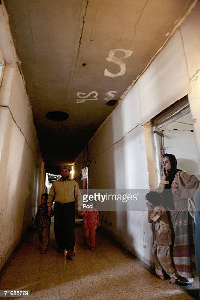 Iraqi Kurds live inside the fortress which was allegedly formerly used by the Iraqi Army to interrogate and torture Kurds during Saddam Hussein's...