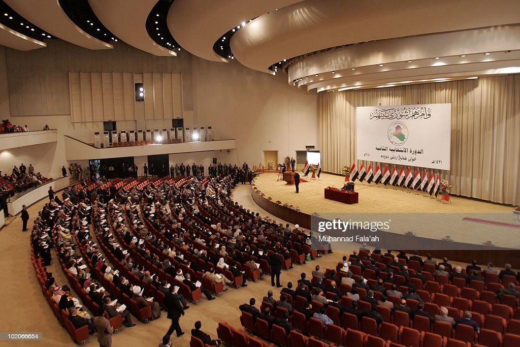 Iraq Parliament Convenes Following Inconclusive Election : Nachrichtenfoto