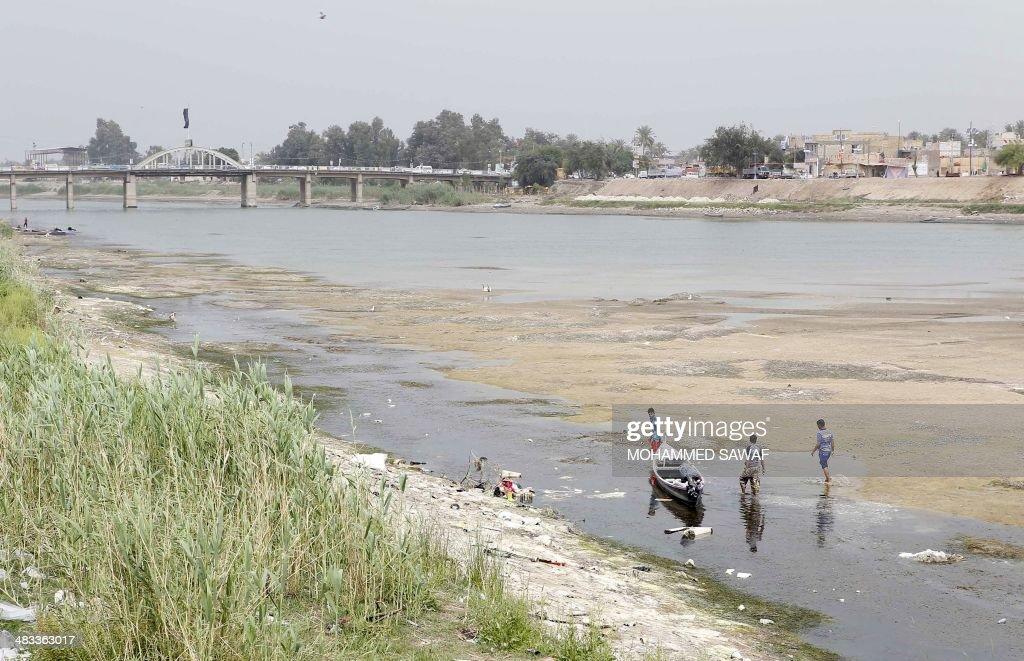 IRAQ-UNREST-WATER : Nachrichtenfoto