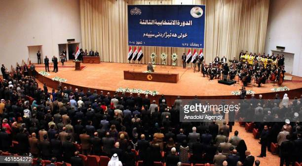 Iraqi parliamentary speaker election is adjourned to July 8 in the capital Bagdad Iraqi on July 12014