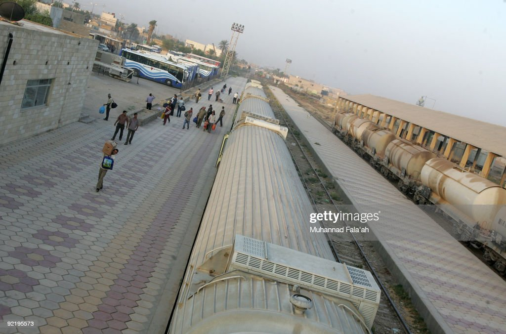 Great Train Journeys - Baghdad To Basra : Foto jornalística