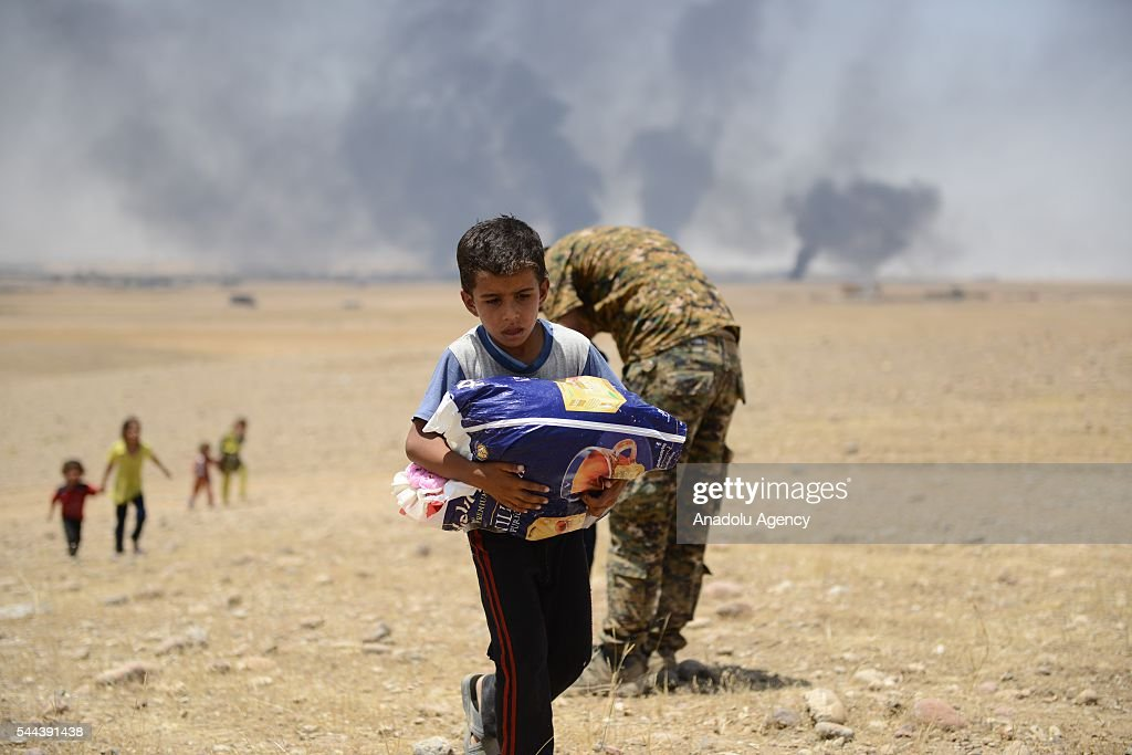 Mosul rescue operation from Daesh : News Photo