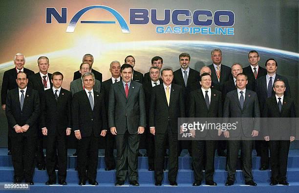 Iraqi Prime Minister Nuri alMaliki Hungarian Prime Minister Gordon Bajnai Austrian Chancellor Werner Faymann Georgia's President Mikheil Saakashvili...