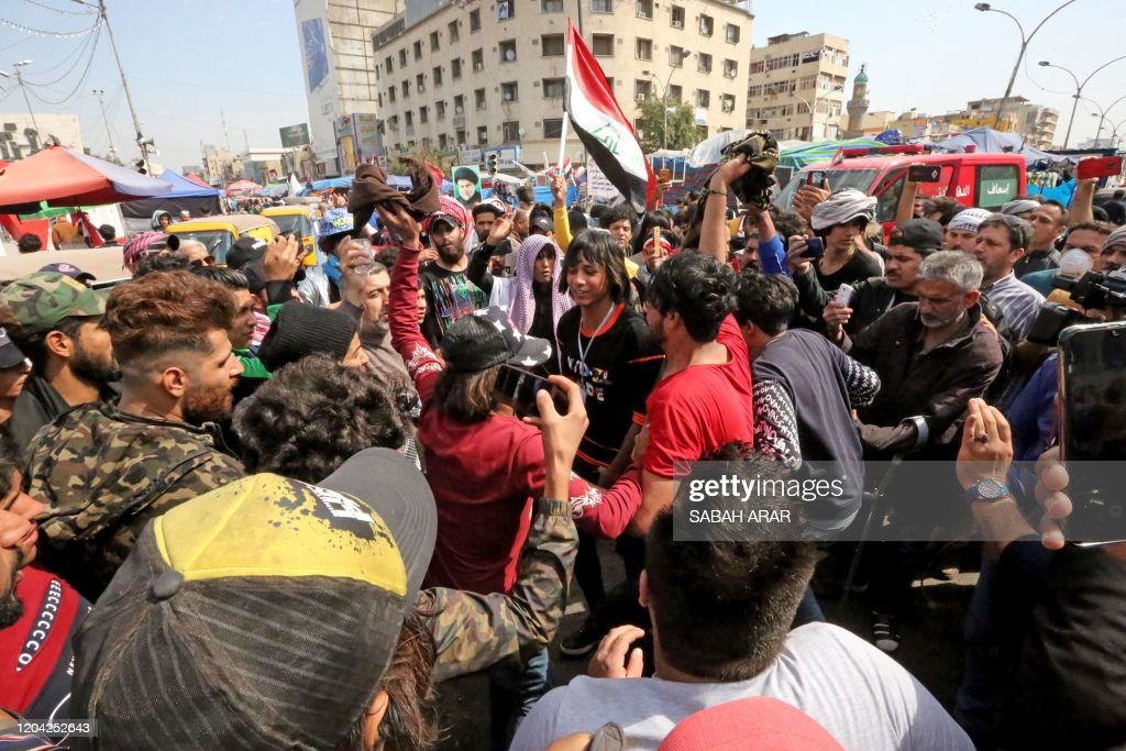 IRAQ-POLITICS-DEMO : News Photo